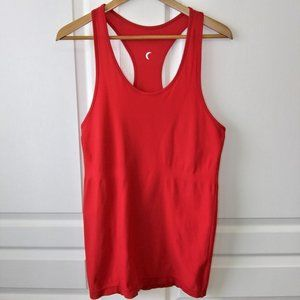 ZYIA Active Red Copper Charged Tank Size L